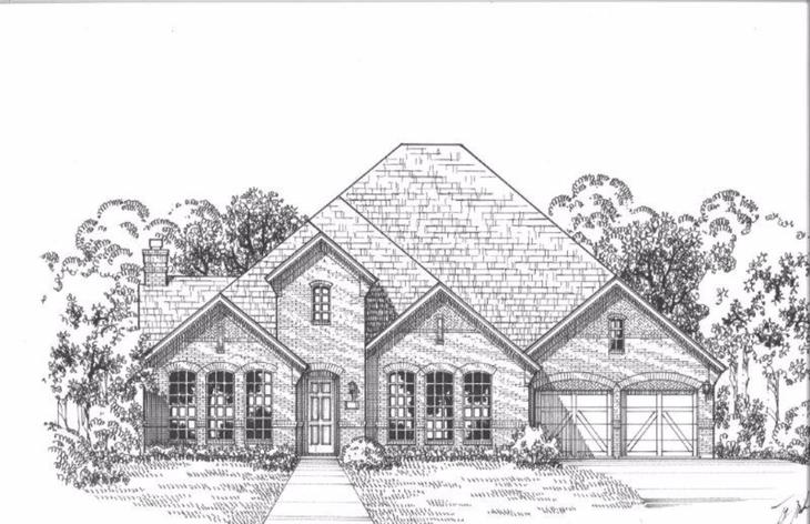 Exterior:Plan 1704 Elevation A