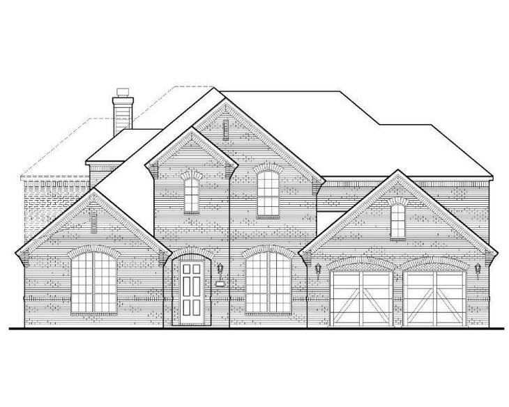 Exterior:Plan 1707 Elevation A