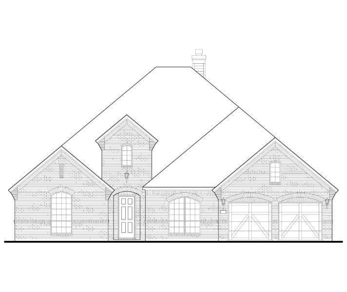 Exterior:Plan 1702 Elevation A
