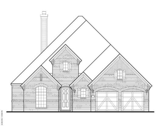 Exterior:Plan 1620 Elevation A