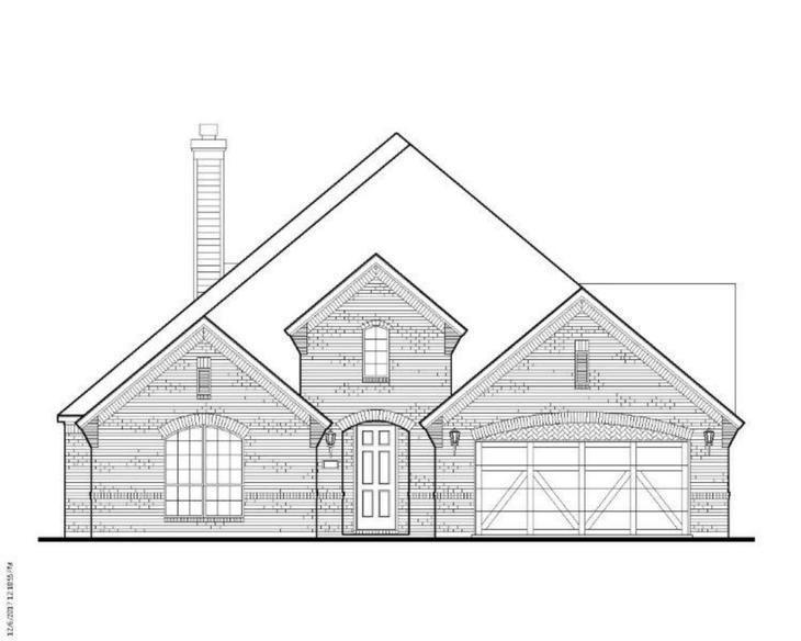Exterior:Plan 1618 Elevation A