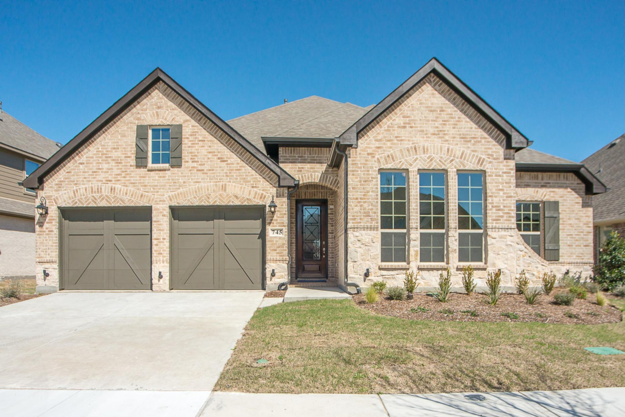 New construction homes and floor plans in aubrey tx for New home source dfw