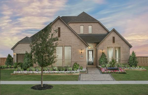 Windsong Ranch 76' Model - Plan 815 - Front Elevation by American Legend Homes