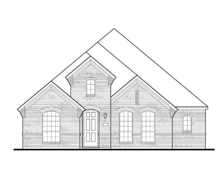 Exterior:Plan 1551 Elevation A