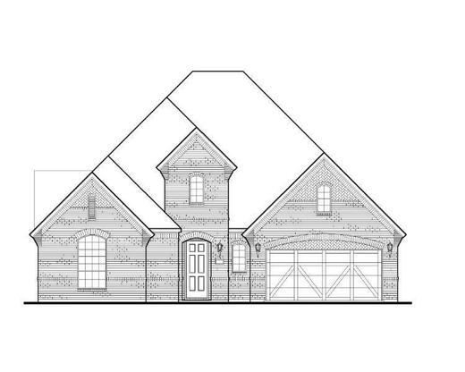 Exterior:Plan 1630 Elevation A
