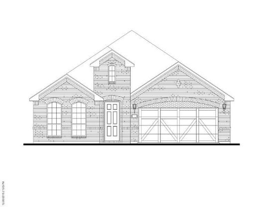 Exterior:Plan 1519 Elevation A