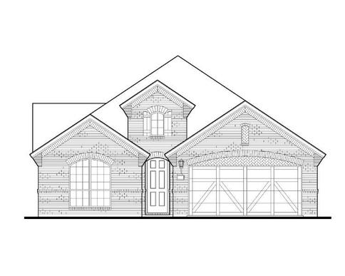 Exterior:Plan 1523 Elevation A