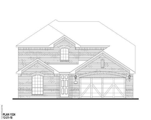 Exterior:Plan 1524 Elevation A
