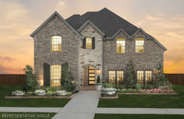Exterior:Representative Photo of Plan 1195 by American Legend Homes