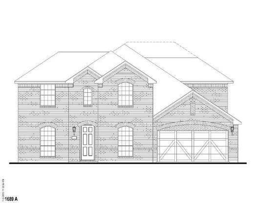 Exterior:Plan 1689 Elevation A