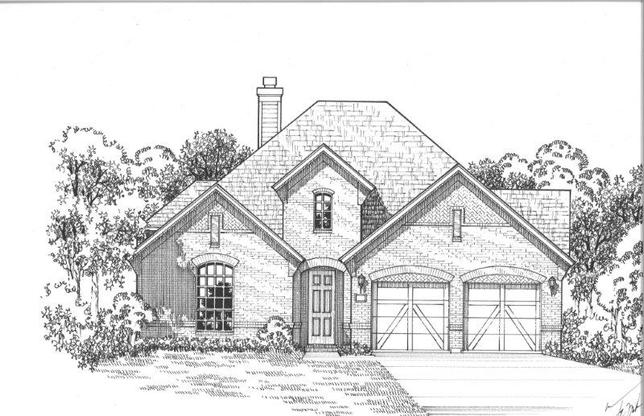 Exterior:3950 Prairie Clover Elevation A