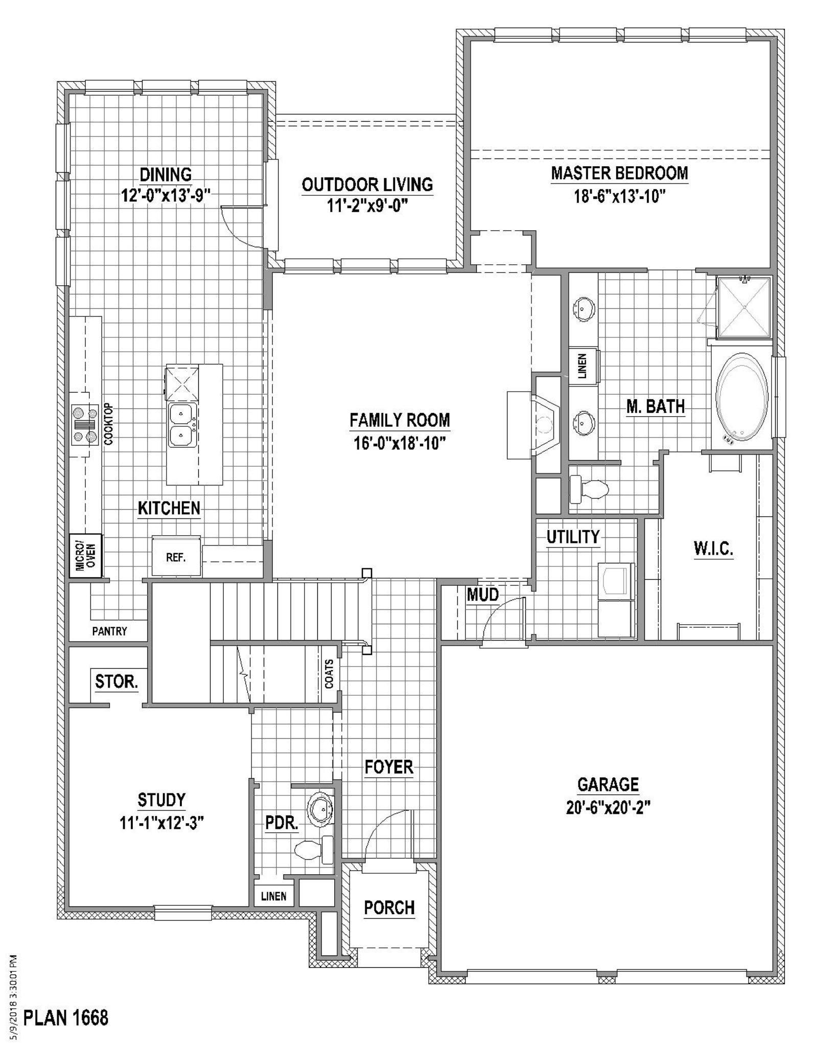Plan 1668 1