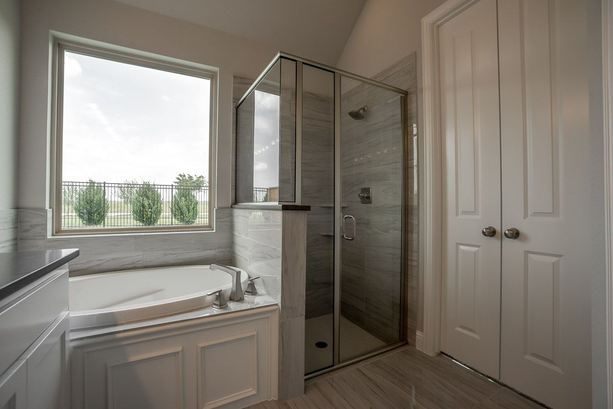 Bathroom featured in the Plan 1151 By American Legend Homes in Fort Worth, TX