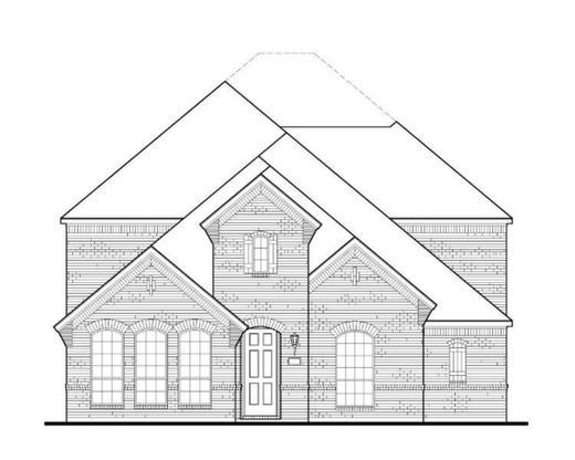 Exterior:Plan 1594 Elevation A
