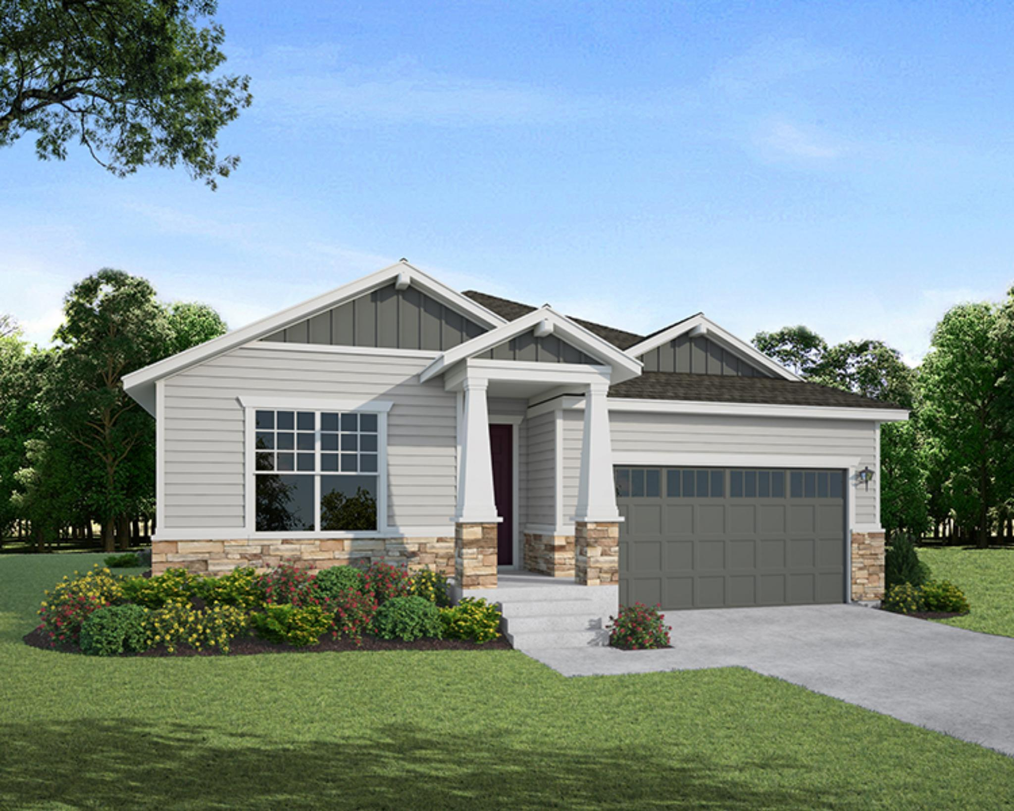 Exterior featured in the Plan C401 By American Legend Homes in Fort Collins-Loveland, CO