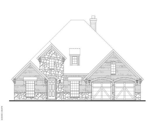 Exterior:9805 Forester Elevation C