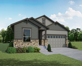 Plan C351 - The Enclave at Mariana Butte - Parkside Series: Loveland, Colorado - American Legend Homes