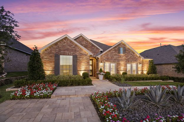 Plan 1521 Canyon Falls Model Exterior Photo by American Legend Homes