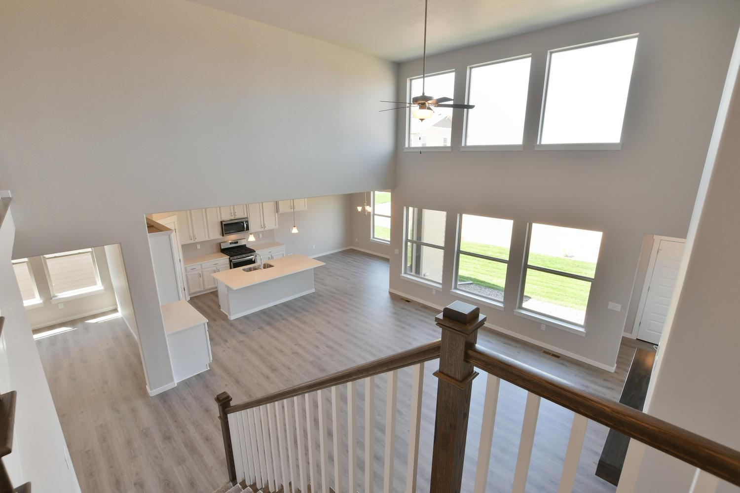 Living Area featured in the Plan C504 By American Legend Homes in Greeley, CO