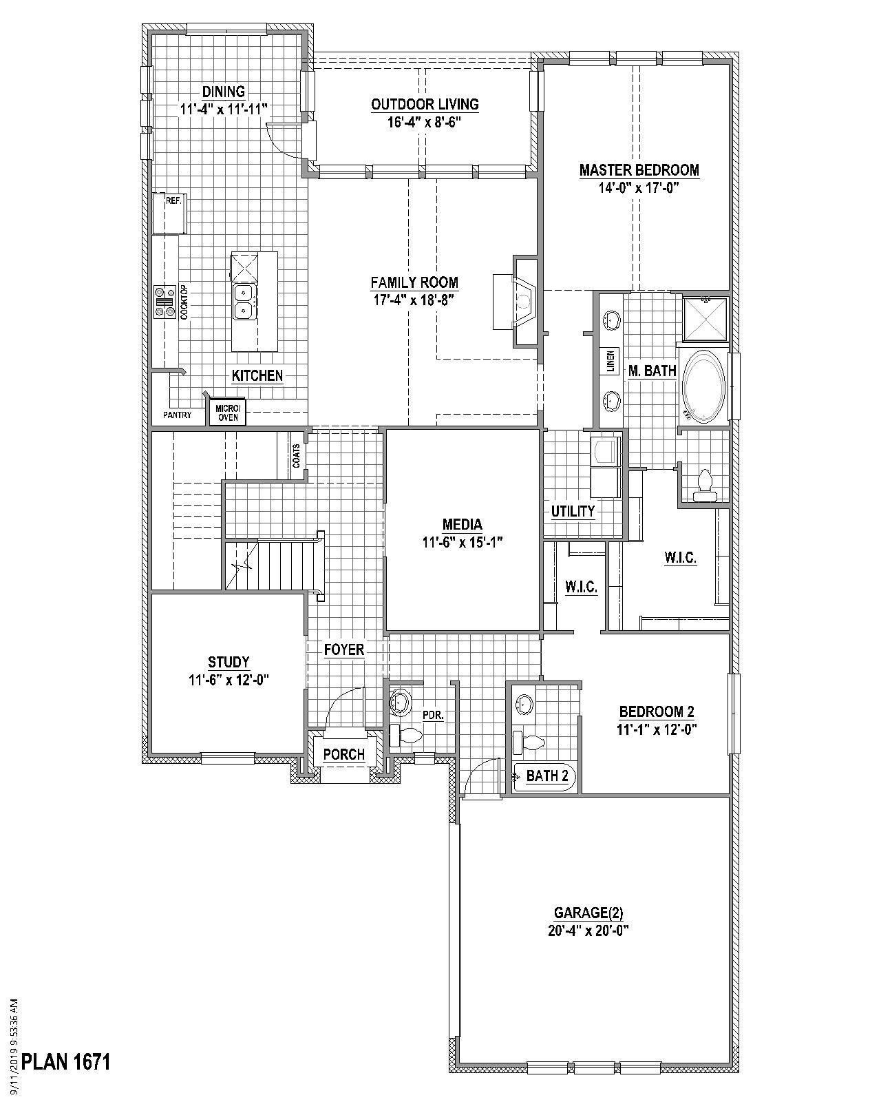 Plan 1671 1
