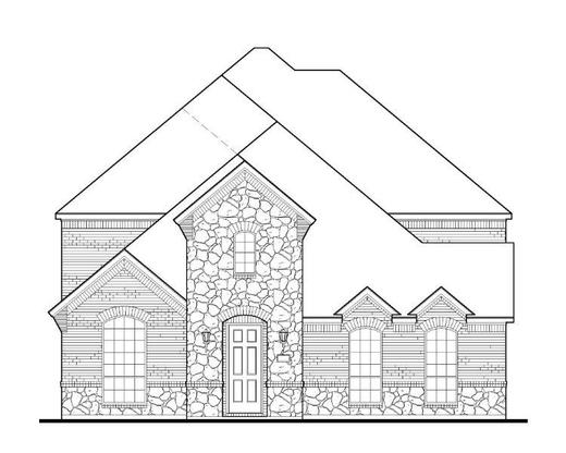 Exterior:13998 Colin Elevation A w/ Stone