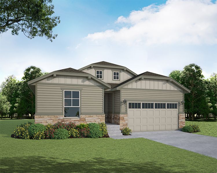 Exterior featured in the Plan V416 By American Legend Homes in Fort Collins-Loveland, CO