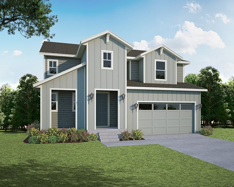 Exterior featured in the Plan V420 By American Legend Homes in Fort Collins-Loveland, CO