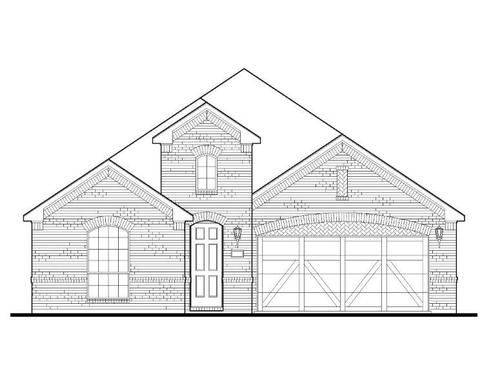 Exterior:Plan 1529 Elevation A