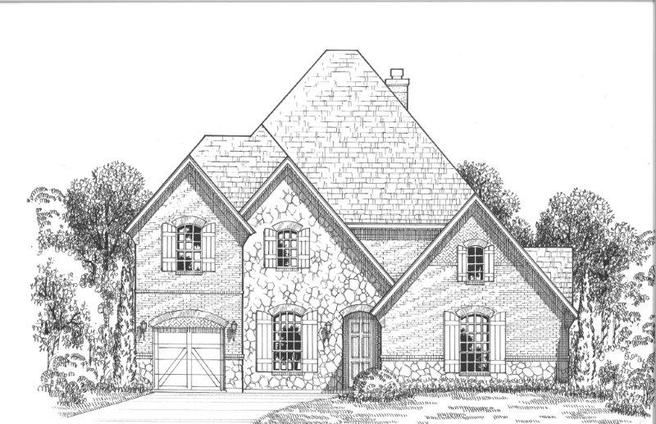 8507 Twistpine Road (Plan 694)