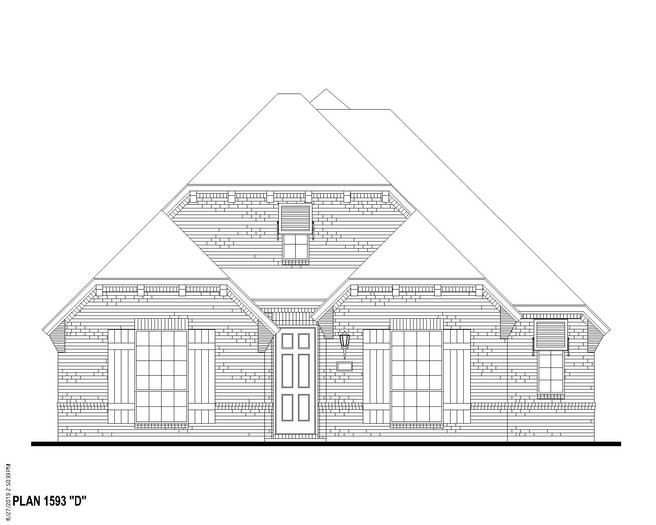 12427 Ravine Creek (Plan 1593)