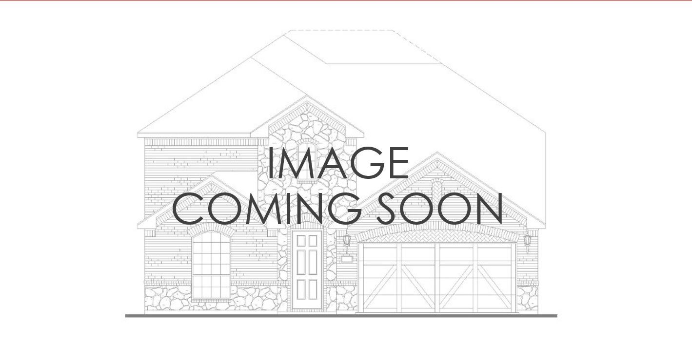 Exterior:Plan 1525 Elevation A with stone
