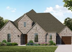 Plan 826 - Windsong Ranch - 76s: Prosper, Texas - American Legend Homes