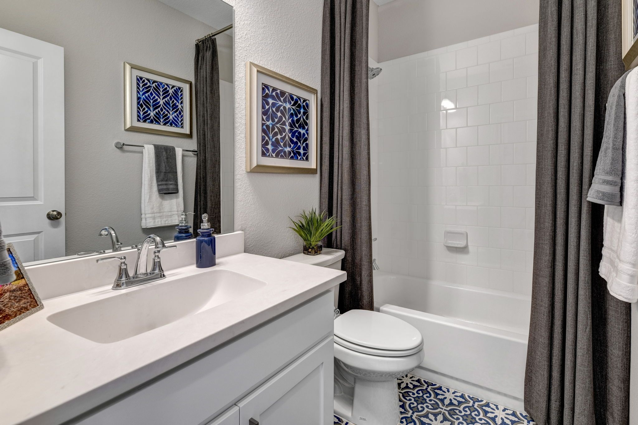 Bathroom featured in the Plan 1525 By American Legend Homes in Dallas, TX
