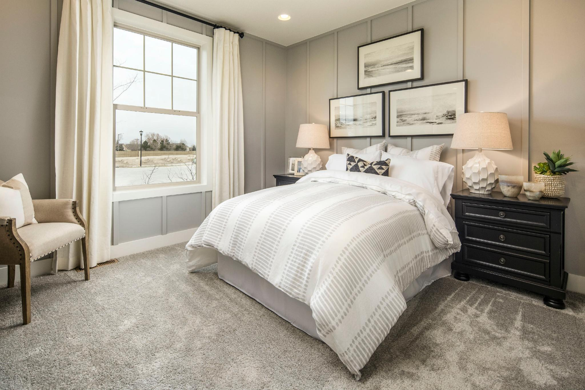 Bedroom featured in the Plan C408 By American Legend Homes in Fort Collins-Loveland, CO