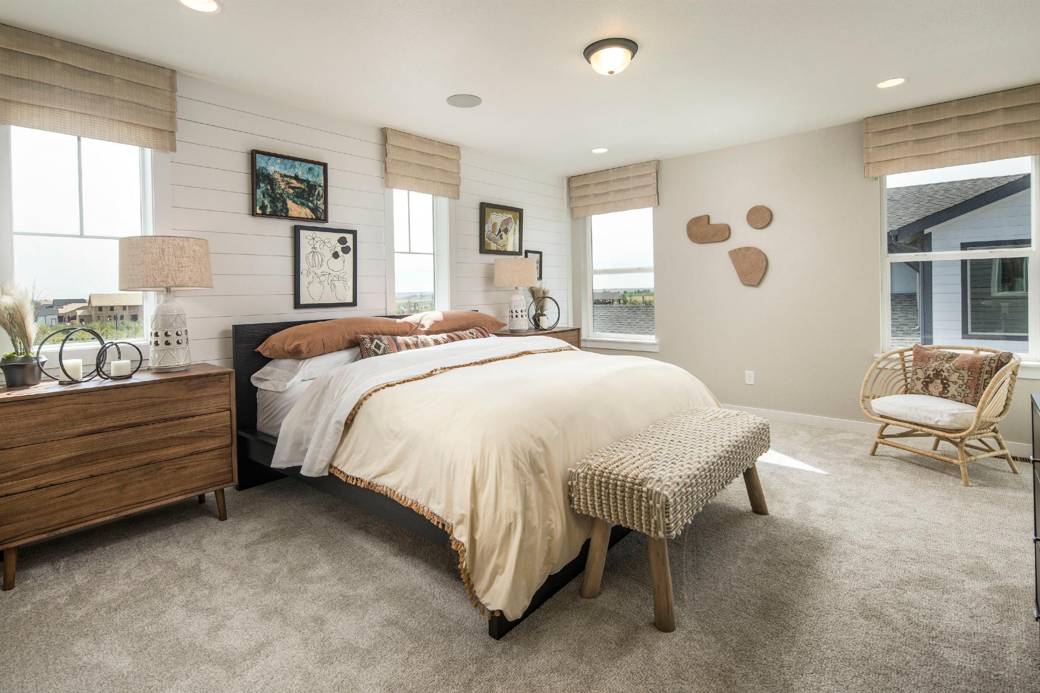 Bedroom featured in the Plan V421 By American Legend Homes in Fort Collins-Loveland, CO