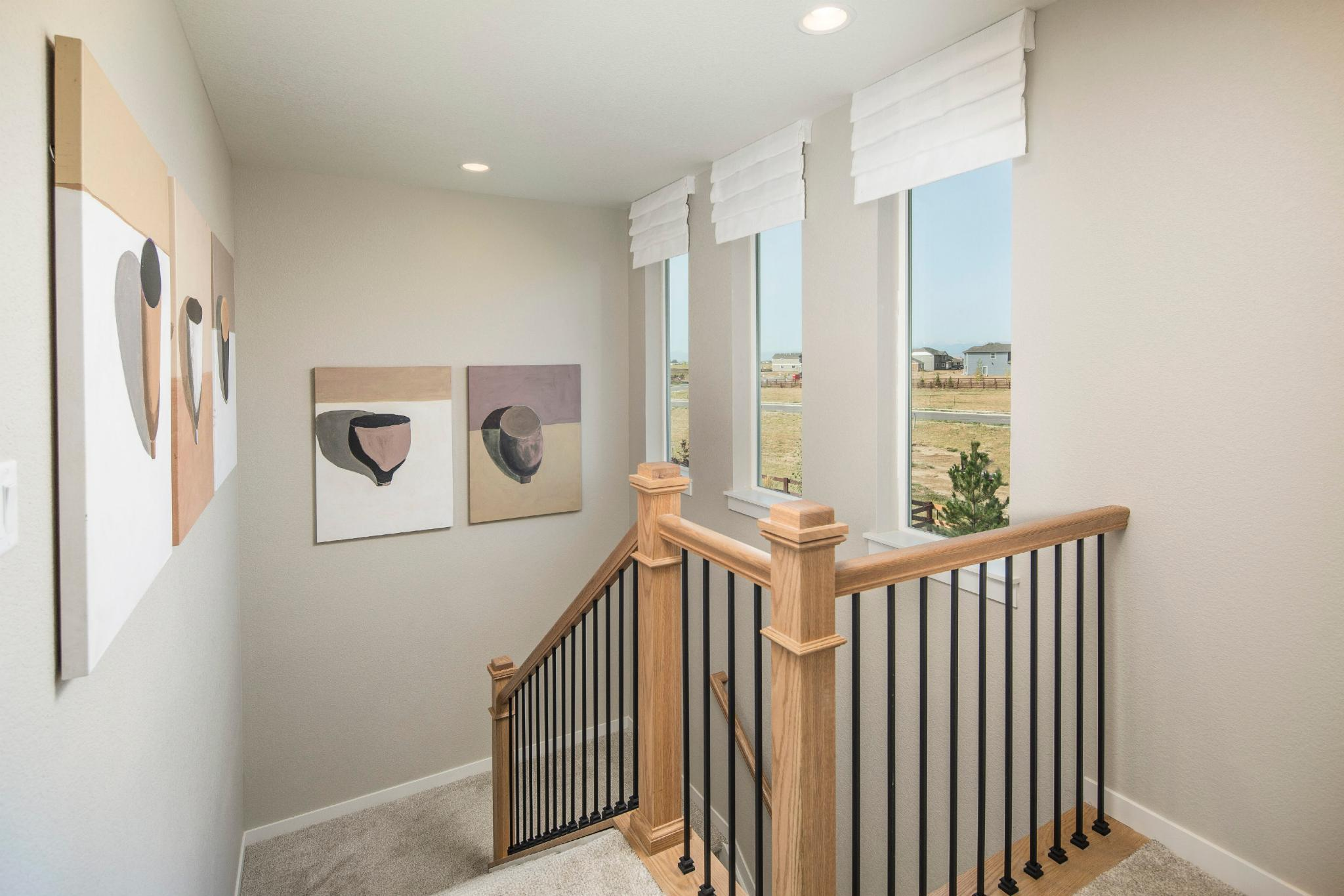Living Area featured in the Plan V421 By American Legend Homes in Fort Collins-Loveland, CO