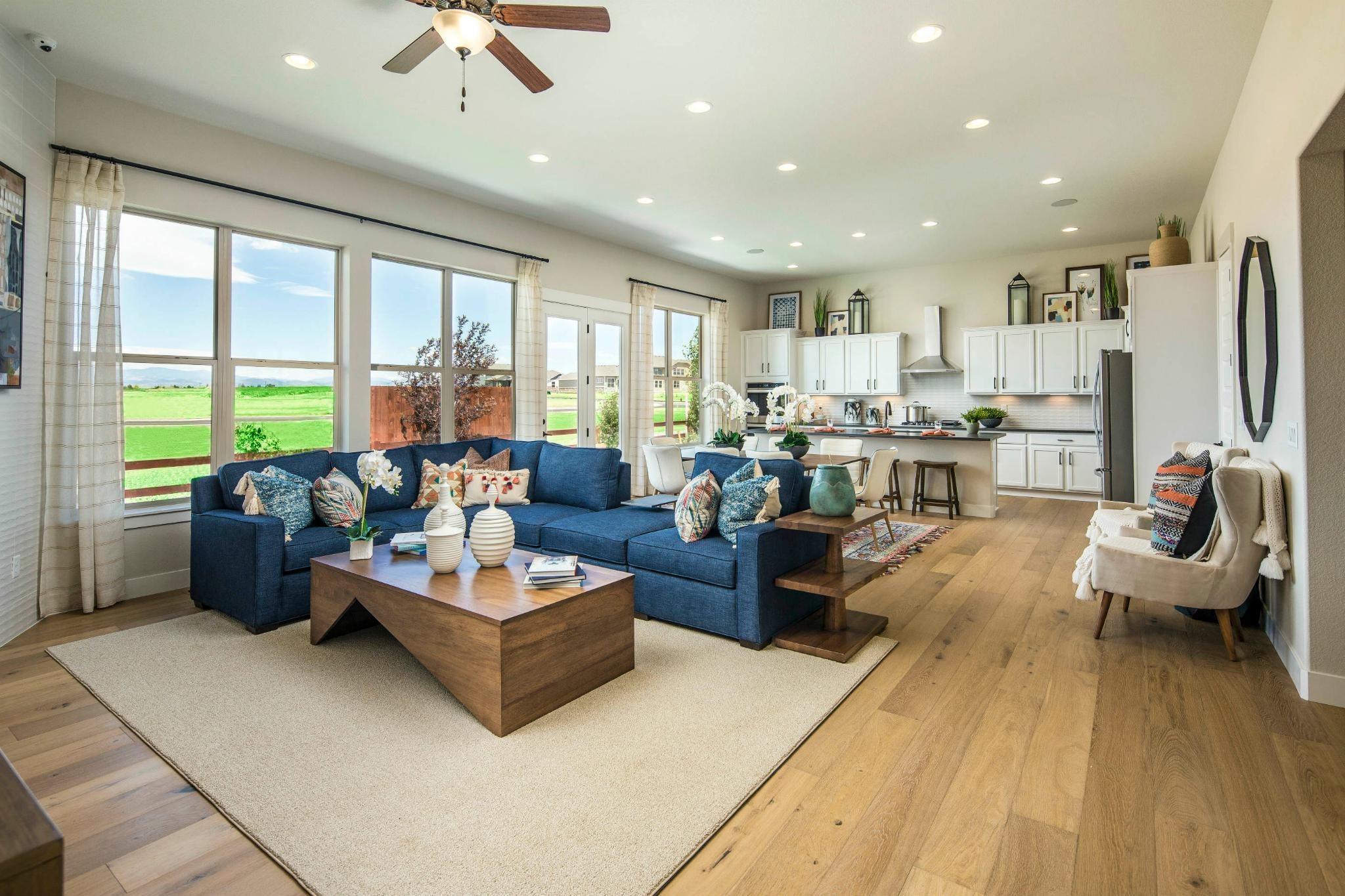 Living Area featured in the Plan C502 By American Legend Homes in Greeley, CO