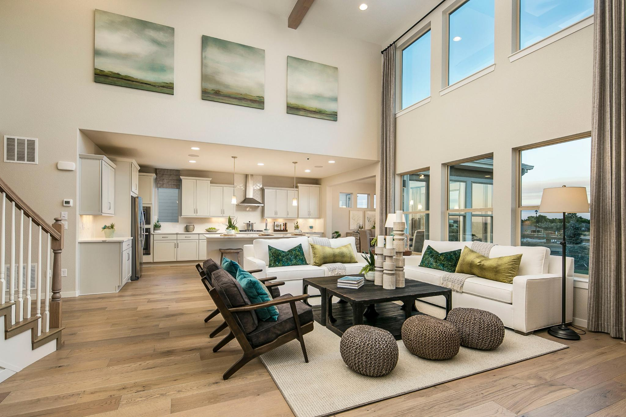 Living Area featured in the Plan C505 By American Legend Homes in Greeley, CO