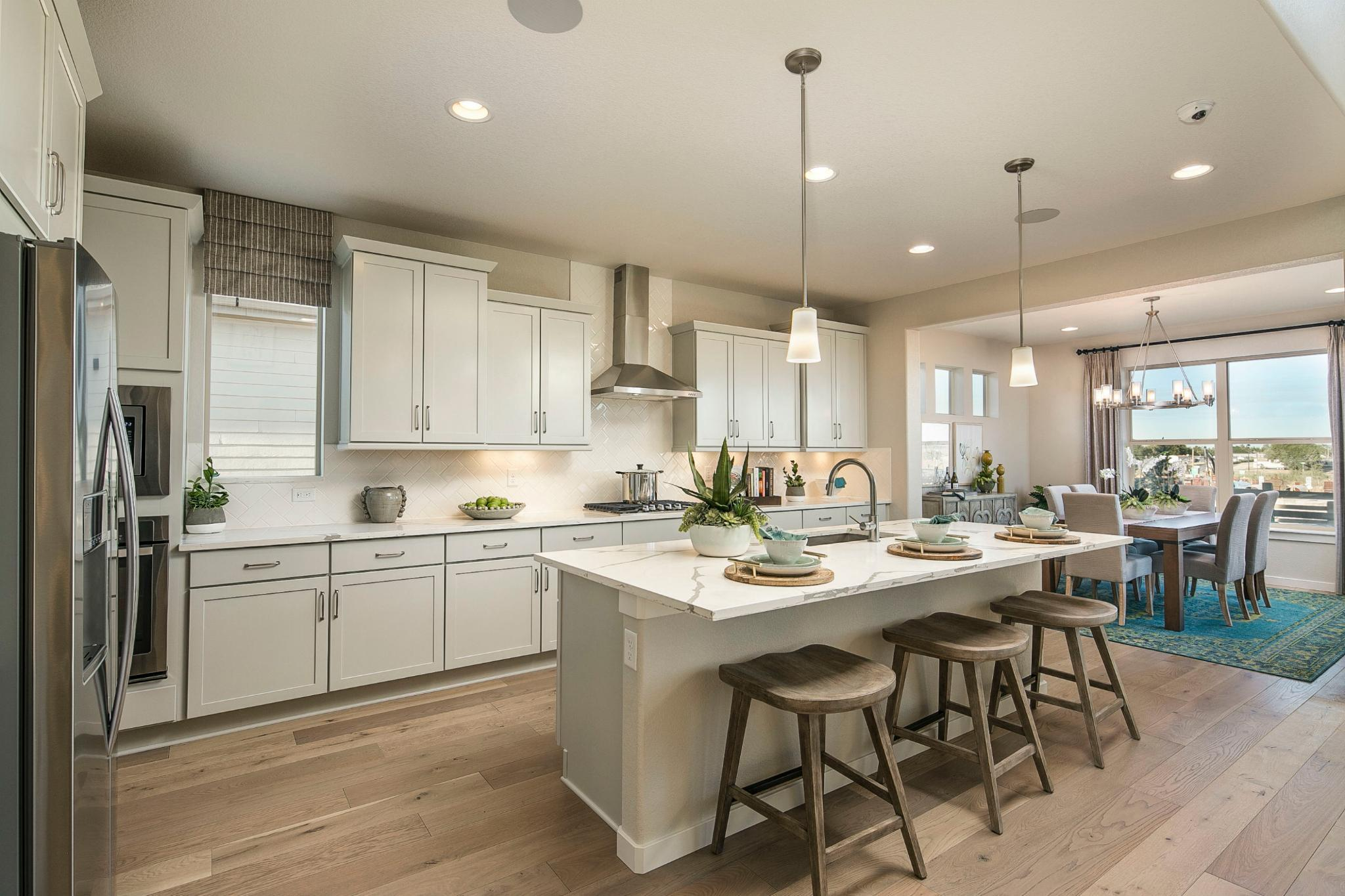 Kitchen featured in the Plan C505 By American Legend Homes in Greeley, CO