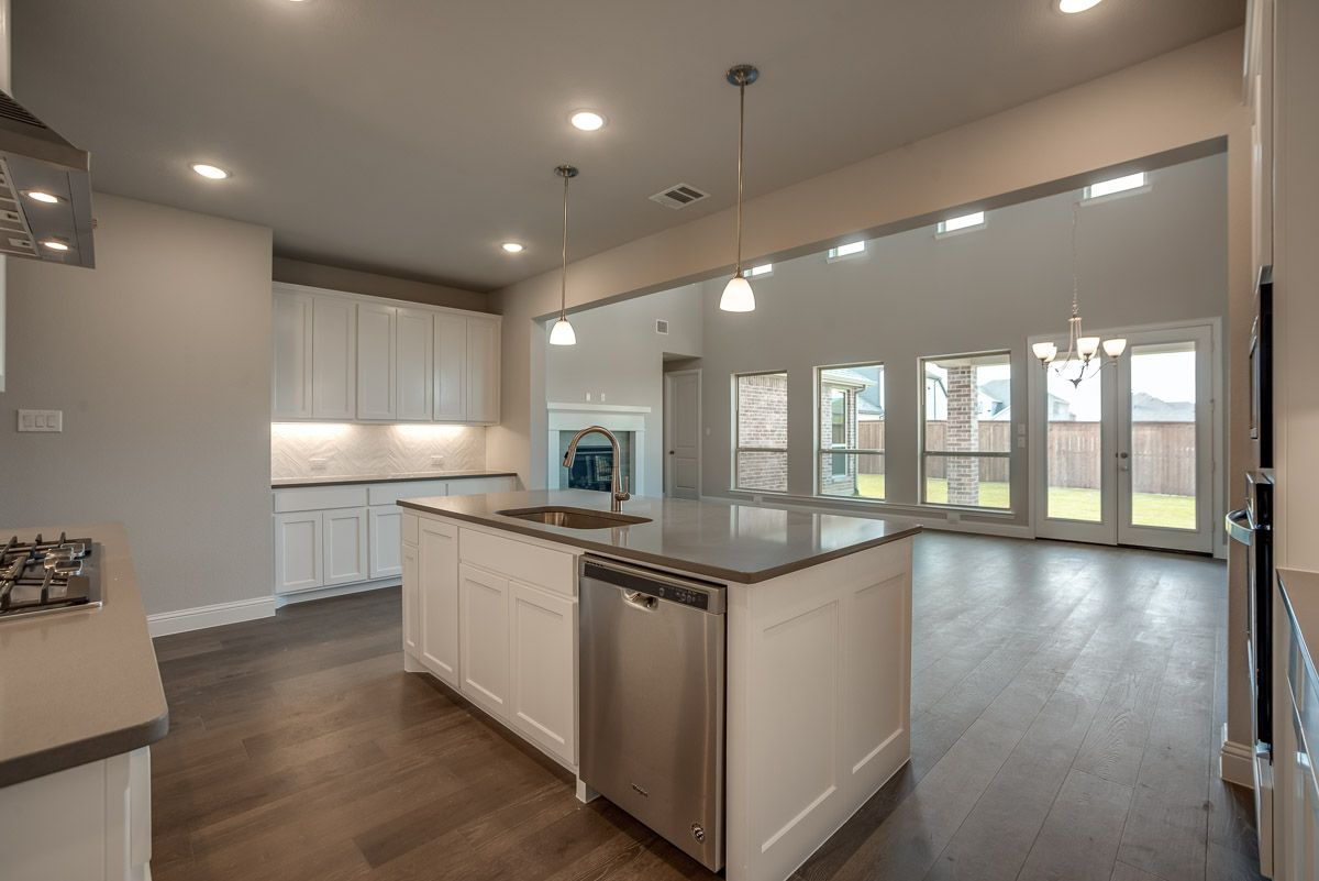 Kitchen featured in the Plan 1527 By American Legend Homes in Dallas, TX