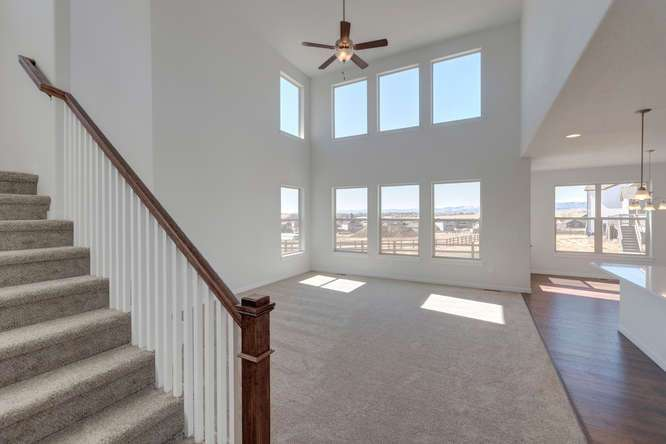 Living Area featured in the Plan C405 By American Legend Homes in Greeley, CO