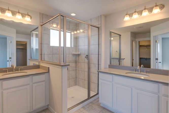 Bathroom featured in the Plan C405 By American Legend Homes in Greeley, CO