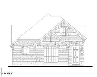Plan 1402 - The Grove Frisco - 40s: Frisco, Texas - American Legend Homes