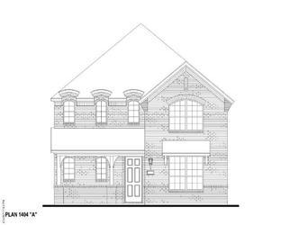 Plan 1404 - The Grove Frisco - 40s: Frisco, Texas - American Legend Homes