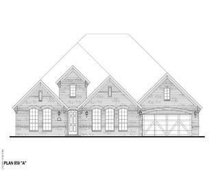 Plan 850 - Watercress 80s: Haslet, Texas - American Legend Homes