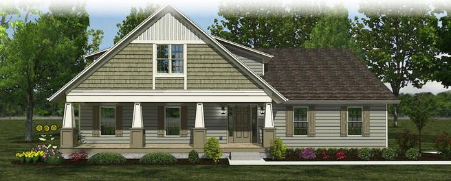 The Annadale - Craftsman- Lot and Site Work not included