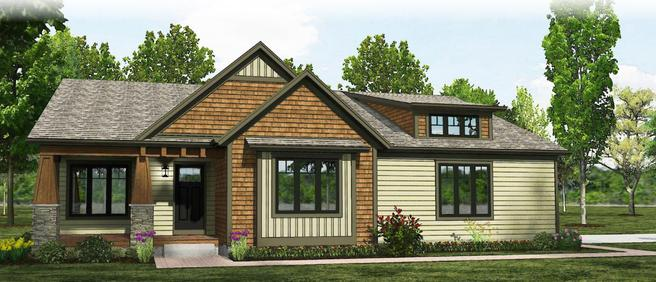 The Barrington - Craftsman- Lot and Site Work not included