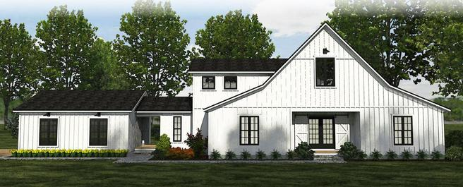 The Carrollton - Farmhouse - Lot and Site Work not included