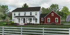 The Madison II - Farmhouse - Lot and Site Work not included