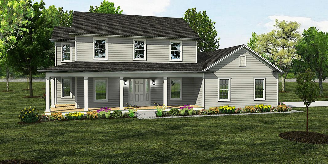 Exterior featured in The Adams By American Heritage Homes in Columbus, OH